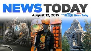 Spiderman Attraction Concept Art, Halloween Merchandise and Fireworks - News Today for 8/12/19