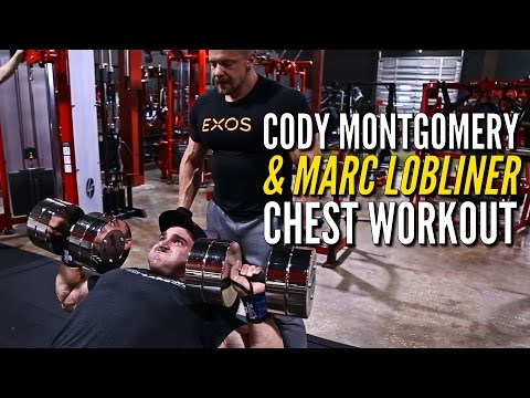 IFBB Pro Cody Montgomery and Marc Lobliner Chest Workout