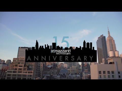 15 Year Anniversary - eMazzanti Technologies