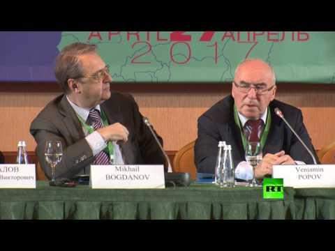 """صحفيو """"الدول الإسلامية ضد التطرف"""" يلتقون في موسكو"""
