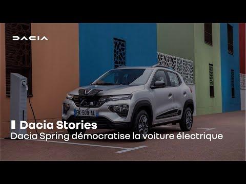 Dacia Spring démocratise la voiture électrique | Renault Group