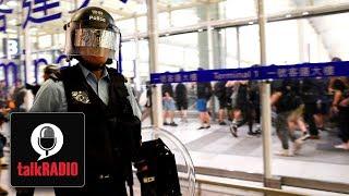 Violent clashes at Hong Kong airport