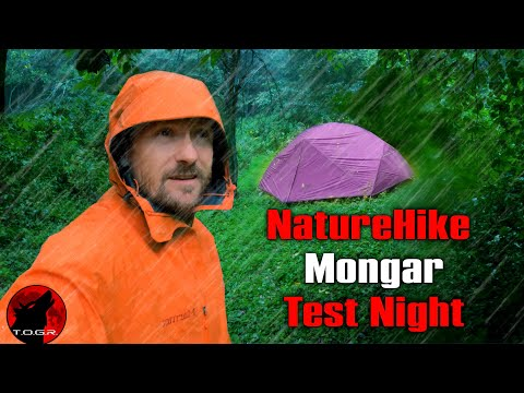 Can We Get This Tent To Leak? - NatureHike Mongar 2 Tent - Test Night
