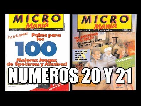 MICROMANIA PRIMERA EPOCA NUMEROS 20 y 21