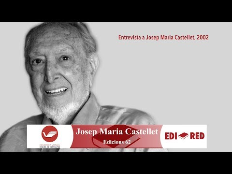Vidéo de  Josep Maria Castellet