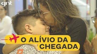 Retorno emocionante ao Brasil após 40 anos fora | Astrid Fontenelle | Chegadas e Partidas