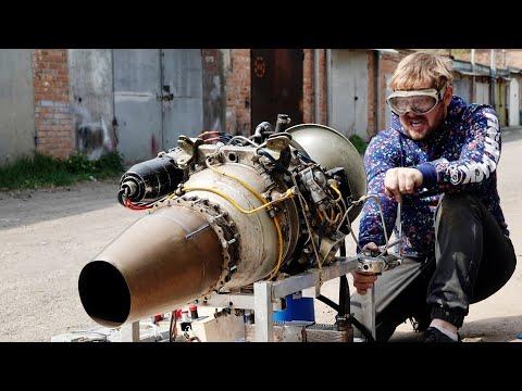 А говорили не будет тяги - Поставил рекорд !!! Переделка ВСУ АИ-8 из генератора в турбореактивный photo