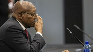 Former South African president Jacob Zuma grilled in corruption probe