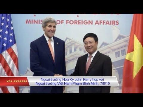 'Ông Kerry sẽ góp ý với Việt Nam về quan hệ với tân tổng thống Mỹ'