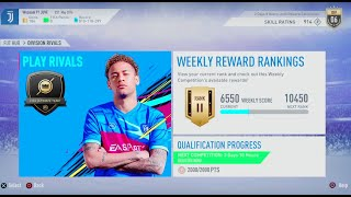 FIFA 19- Ultimate Team: Division Rivals (Wessam 91 JUVE) #1063