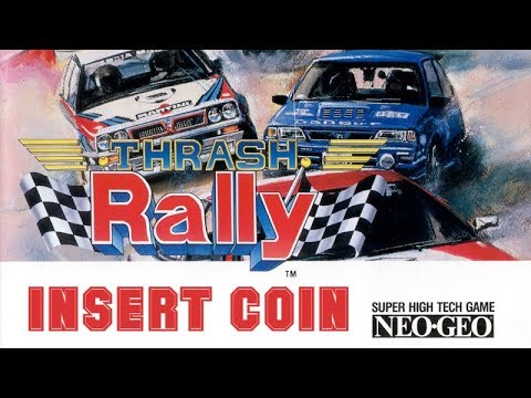 Thrash Rally (1991) - Arcade - Dakar Paris / The Cape - 1cc