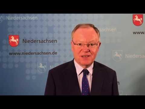 Videobotschaft für die Barber Angels von Stephan Weil, Ministerpräsident Niedersachen