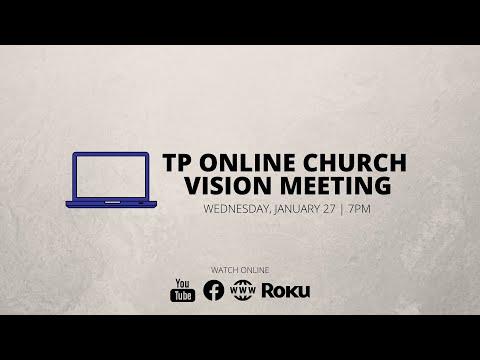 Online Church Vision Meeting