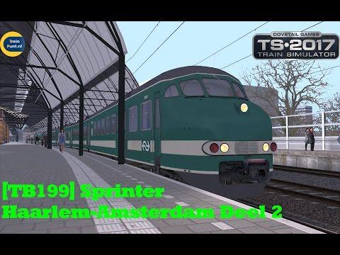 [TB199] Sprinter Haarlem-Amsterdam Deel 2 | NS Mat 64 Plan T | Train Simulator 2017