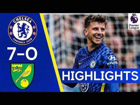 Chelsea 7-0 Norwich | Les meilleurs joueurs de Cobham marquent 7 buts au Bridge ! | Les meilleurs moments de la Premier League