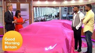 Supercar, Superfam Stars Customise a Lamborghini for GMB | Good Morning Britain