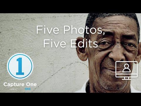 Five Photos, Five Edits | Webinar | Capture One