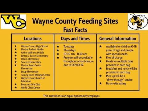 Wayne County Feeding Site