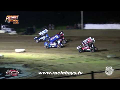 Lucas Oil ASCS Highlights Caney Valley Speedway 7 28 21 - dirt track racing video image