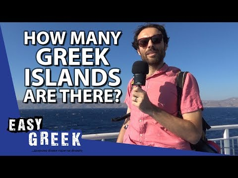 How many Greek islands are there? | Easy Greek 38 photo