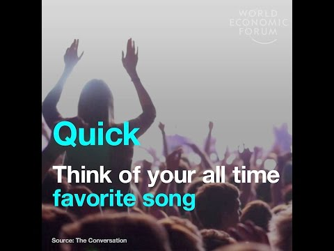 Quick - Think of your all time favorite song