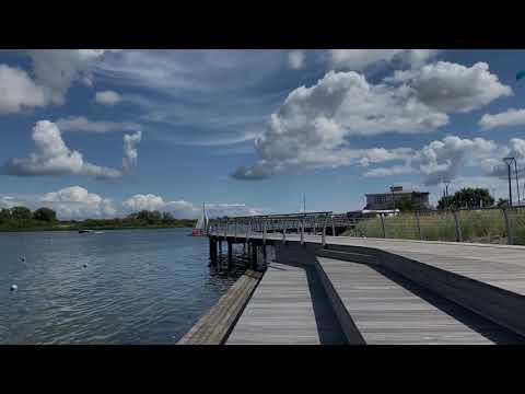 Rundgang über die neue Yachthafenpromenade in Burgtiefe auf Fehmarn ⚓