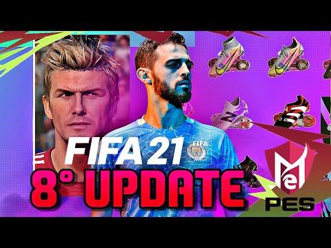 FIFA 21   8° ATUALIZAÇÃO JÁ DISPONÍVEL! 69 NOVAS FACES + NOVA JOGABILIDADE!