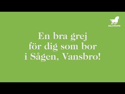 En bra grej för dig som bor i Sågen, Vansbro!