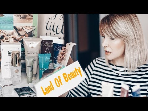 ВЕСЕННИЙ БОКС LAND OF BEAUTY С КОСМЕТИКОЙ  НА 600$!!!✦ТАТЬЯНА РЕВА