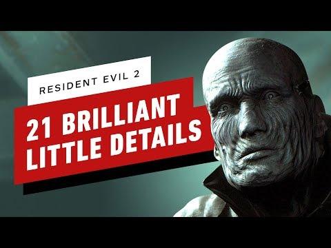 21 Brilliant Little Details in Resident Evil 2 - UCKy1dAqELo0zrOtPkf0eTMw