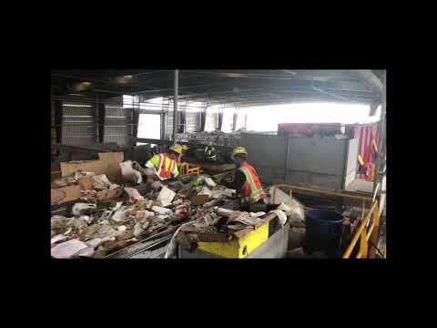 Separation process at Friedman Recycling