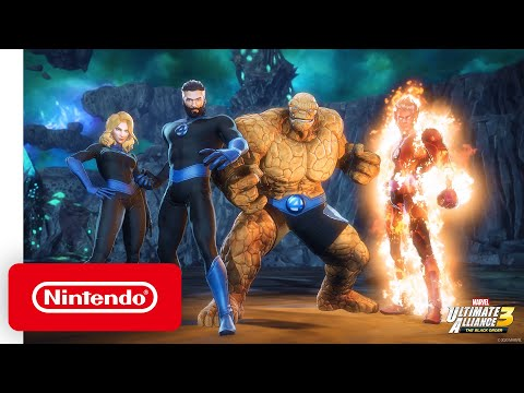 MARVEL ULTIMATE ALLIANCE 3: The Black Order Expansion Pass – Pack 3: Fantastic Four: Shadow of Doom