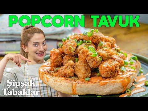 Popcorn Tavuk ve Evde Yapabileceğiniz En İyi Sarımsaklı Ekmek Tarifi! | Şipşak Tabaklar B8