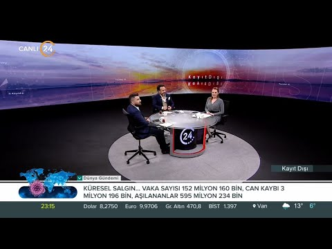 """Beyza Hakan ile Kayıt Dışı / """"Salgınların Geleceği""""- Dr. Ümit Aktaş ve Dr. Ömer Saltan -01 05 2021"""