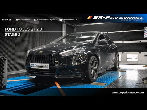 Ford Focus ST 2.0T / Stage 2 By BR-Performance