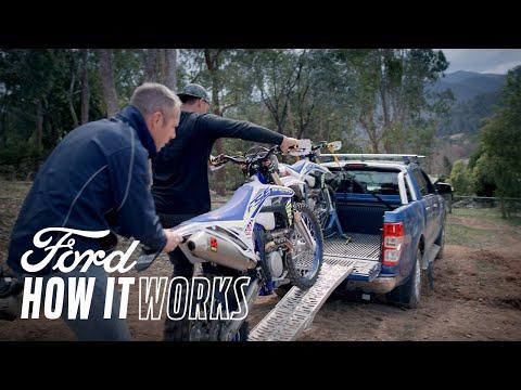 Cum să încărcați motociclete pe platforma pick-up-ului Ford Ranger | Ford Ranger | Ford Romania