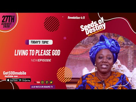 Dr Becky Paul-Enenche - SEEDS OF DESTINY - THURSDAY AUGUST 27, 2020