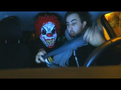 Scary Clown Nightmare Prank