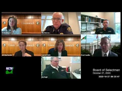 Board of Selectmen, October 27, 2020