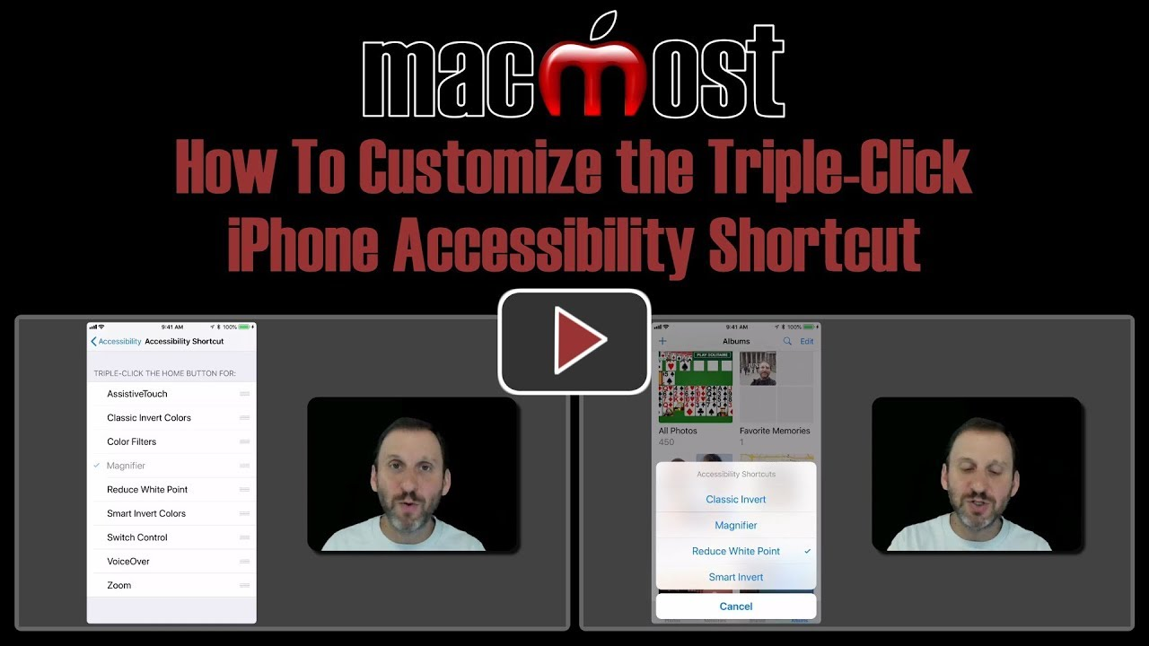 iphone triple click how to customize the click iphone accessibility 4747