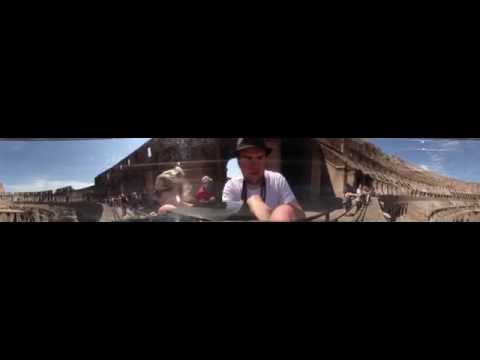 WORLDS FIRST 360 CAMERA - Colosseum (Rome)