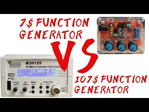 7$ Function Generator VS 107$ Function Generator