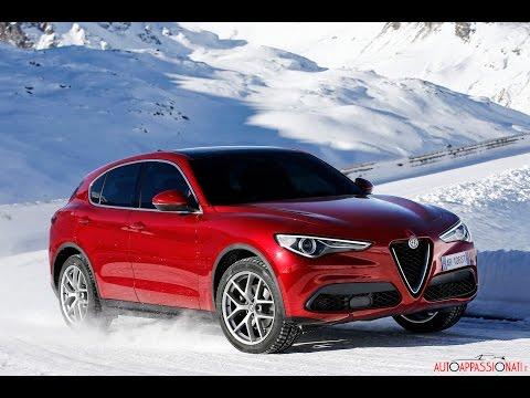 Alfa Romeo Stelvio: driving clip