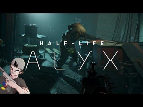 OH DIOS....    EMPEZAMOS HALF LIFE: ALYX