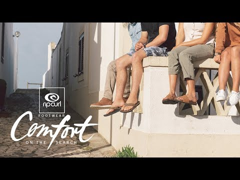 Comfort On The Search | Rip Curl Footwear 2019