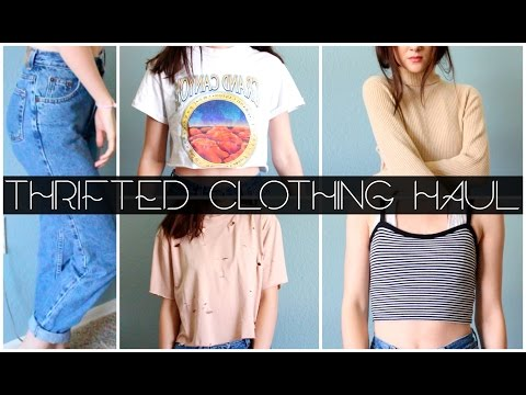 Thrifted Clothing Haul {Try On}