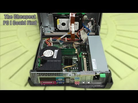 The $0.30 (£0.25) Ebay PC - What Can It Do?