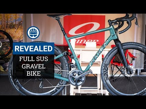 Full Suspension Gravel Bike - Niner's Magic Carpet Ride