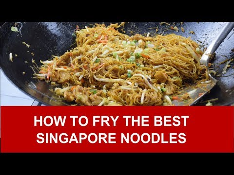 How to fry the best Singapore noodles (rice vermicelli) - UCKKDPrTVNzxA6hdsBWVfSFQ