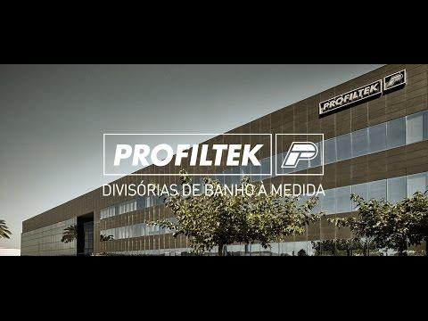 PROFILTEK. Líderes na fabricação de divisórias de duche por medida